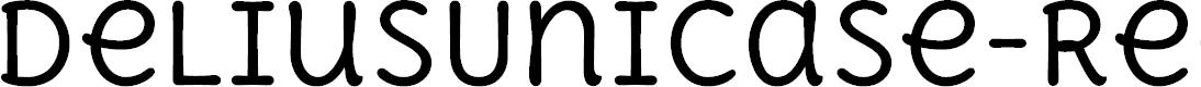 Preview image for DeliusUnicase-Regular Font
