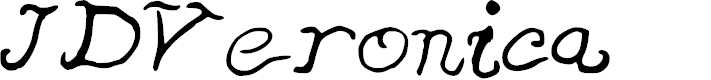 Preview image for JDVeronica Font