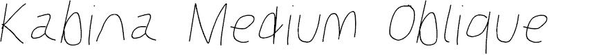 Preview image for Kabina Medium Oblique