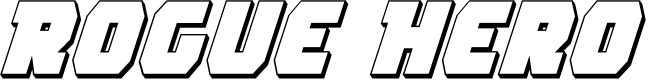 Preview image for Rogue Hero 3D Italic