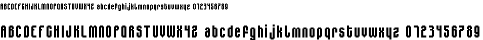 Preview image for MiniJasc Font