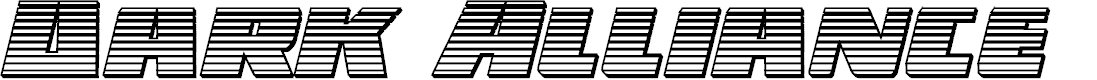 Preview image for Dark Alliance Chrome Italic
