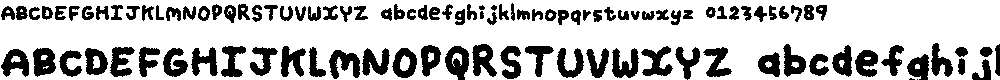 Preview image for My Brushwriting Font