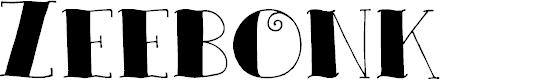 Preview image for DKZeebonk Font