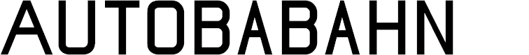 Preview image for Autobabahn Font