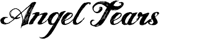 Preview image for ANGELTEARS-trial Font