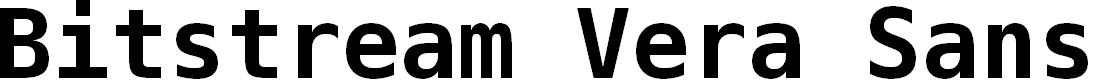 Preview image for Bitstream Vera Sans Mono Bold