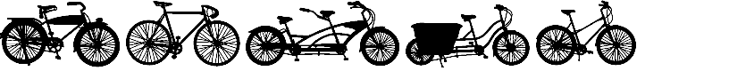 Preview image for BIKES Font