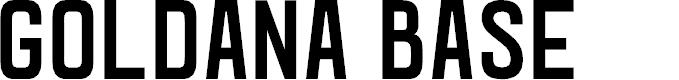 Preview image for Goldana Base Font