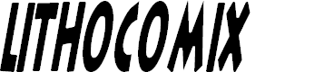 Preview image for LithoComix Italic