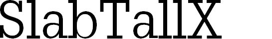 Preview image for SlabTallX Font