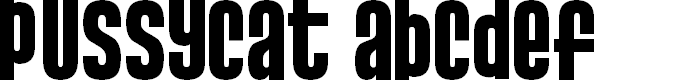 Preview image for Pussycat  Snickers Font