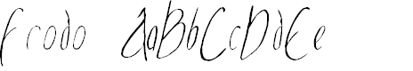Preview image for Frodo  Italic
