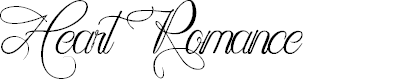 Preview image for Heart Romance Font