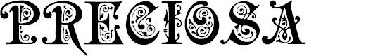 Preview image for Preciosa Font