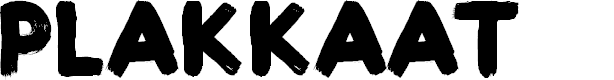 Preview image for Plakkaat Font