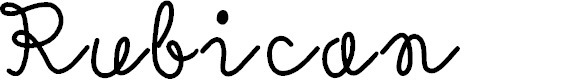Preview image for Rubican Font