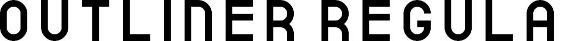 Preview image for outliner Regular Font