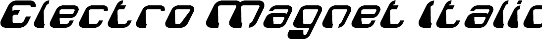 Preview image for Electro Magnet Italic