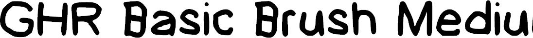 Preview image for GHR Basic Brush Medium