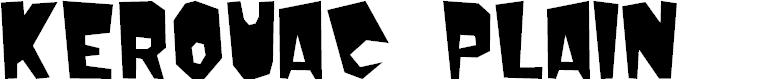 Preview image for Kerouac Plain Font