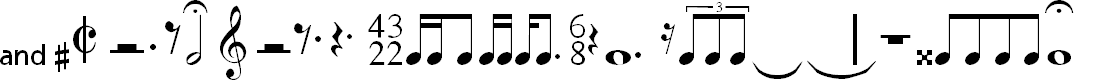 Preview image for MusiSync Font