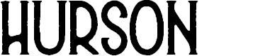 Preview image for Hurson Font