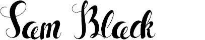 Preview image for Sam Black Font