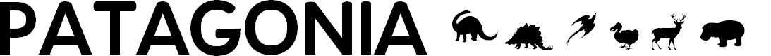 Preview image for PatagoniaPatagonian Titles Font