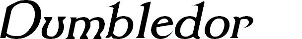 Preview image for Dumbledor 2 Italic