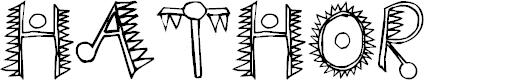 Preview image for Hathor Font