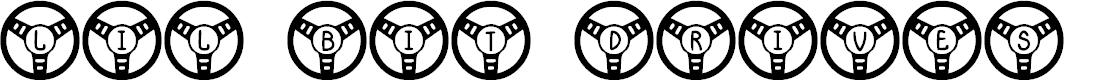 Preview image for JLR Li'l Bit Drives Font