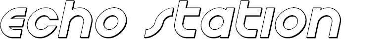 Preview image for Echo Station Outline Italic