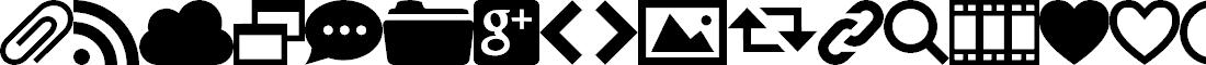 Preview image for WebSymbols-Regular