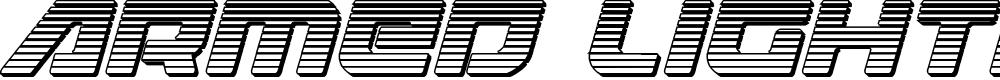 Preview image for Armed Lightning Chrome Italic
