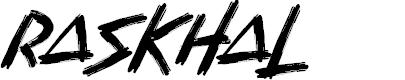 Preview image for Raskhal Font