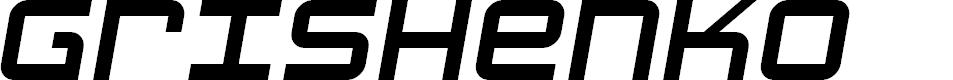 Preview image for Grishenko Opiyat NBP Italic
