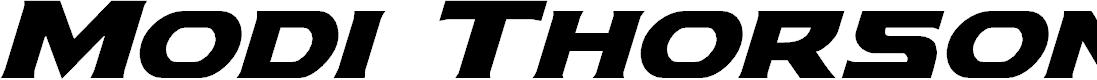 Preview image for Modi Thorson Super-Italic