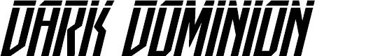 Preview image for Dark Dominion Laser Italic