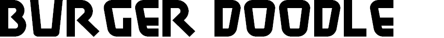 Preview image for BurgerDoodleNF Font