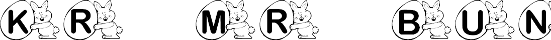 Preview image for KR Mr. Bunny Font