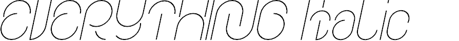 Preview image for EVERYTHING Italic