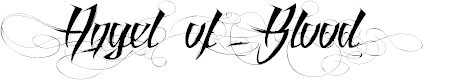 Preview image for Angel of Blood Font