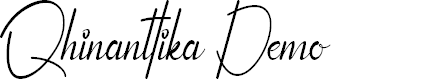 Preview image for Qhinanttika Demo Font