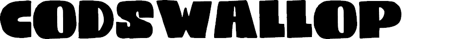 Preview image for DKCodswallop Font