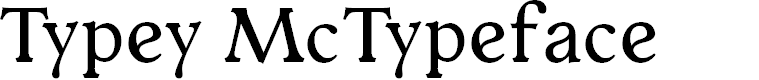 Preview image for Typey McTypeface