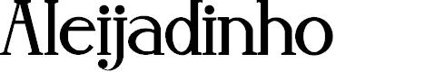 Preview image for Aleijadinho Font