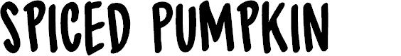 Preview image for DK Spiced Pumpkin Regular Font