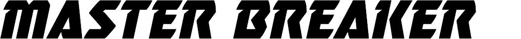 Preview image for Master Breaker Italic