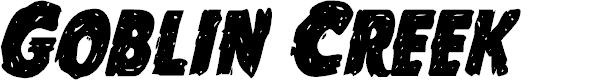 Preview image for Goblin Creek Condensed Italic